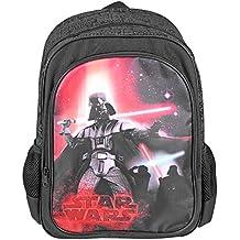 3c79d0c060 Zaino Bambino Star Wars - Zaino scuola con tasca frontale con stampa di  Darth Vader -