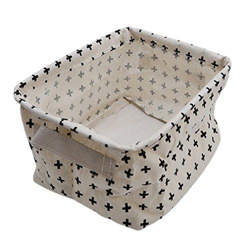 HENGSONG Praktische Aufbewahrungsbox Korb Kosmetik Koffer Make-up Tasche Spielzeug Ablagebox Desktop Organizer für Haus Kinderzimmer Büro Aufbewahrung (Stil 2)