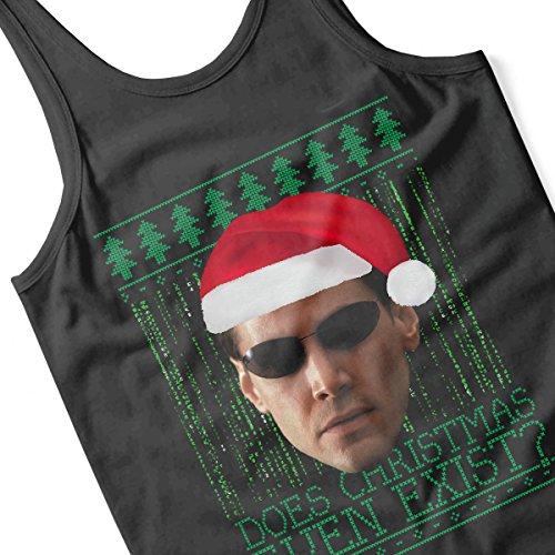 Matrix Neo Christmas Knit Women's Vest Black