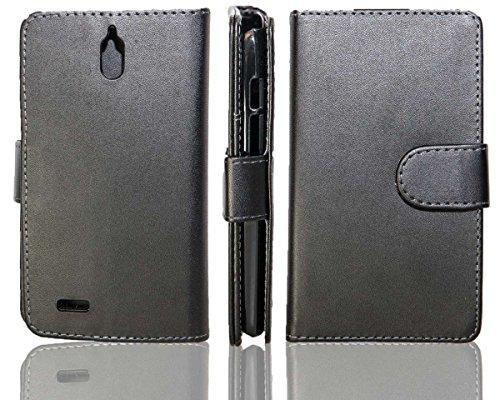 caseroxx Hülle/Tasche Bookstyle-Case Huawei Ascend G610 Handy-Tasche, Wallet-Case Klapptasche in schwarz