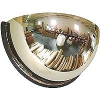 Espejo Convexo de Seguridad para Techo o Pared - Espejo Semiesférico Panorámico para Tiendas - 60 cm de Diámetro