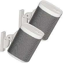 'Sanus par ajustable altavoz soporte de pared diseñado para Sonos Play: 1and Play: 3–blanco