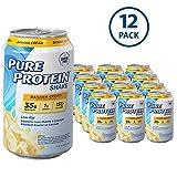 Pure Protein 325 ml Shake - 35 g of Protein - 12 RTD (Banana Cream)