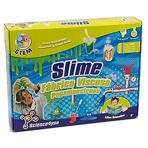 Science4you Fábrica de los pegamonstruos - Slime - Juguete científico y educativo