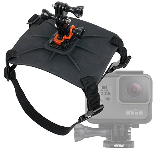 Galleria fotografica Imbracatura Dorso per Cane / Gatto per action camera GoPro HERO 6 Black / Fusion - Regolabile - DURAGADGET