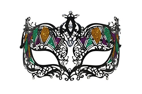 Schlicht und elegant Classy Lady Masquerade Halloween Mardi Gras Party Maske - Zum Verkauf Film-halloween-kostüme