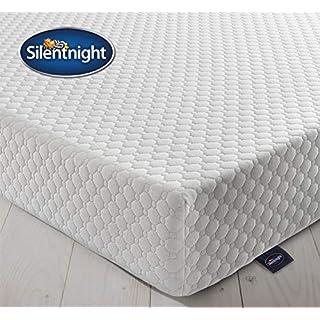 Silentnight 7 Zone Memory Foam Rolled Mattress, Made in the UK, Medium Firm, Double