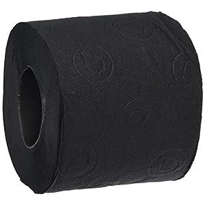Renova H&PC-53742 Toilettenpapier, 3-lagig, weich, Schwarz, 6 Stück, 6 Rolls