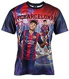 F. C. Barcleona Jungen T-Shirt Neymar Junior, offizielle Kollektion, Kindergröße - 8 Jahre
