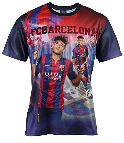 Fc Barcelone Maillot Barça - NEYMAR Junior - Collection officielle Taille enfant garçon
