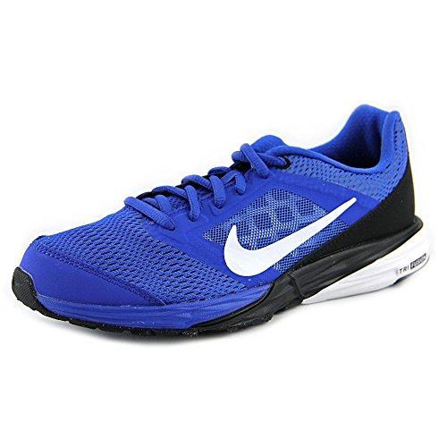 Nike - Tri Fusion Run (Gs) - , homme, multicolore Noir et bleu