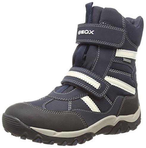 Geox J ALASKA B GIRL ABX, Low-Top Sneaker Ragazza, Blu (Blau (C4174DK NAVY/NAVY)), 35