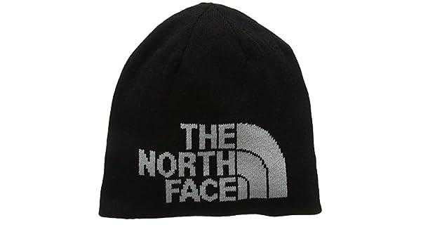 1aefdde5e The North Face Highline Beanie - TNF Black/High Rise Grey, One Size ...