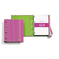 Agatha Ruiz de la Prada 20867 - Carpeta bloc notebook pilares arp (DIN A4, 210 x 297 mm, 100 hojas de 70 g/m², 4 anillas tipo D de 35 mm)