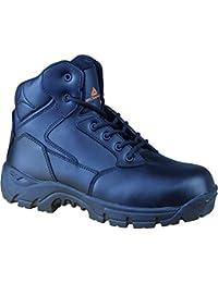 Delta Plus Panoply S3 Marines negro de metal compuesto libre toe cap botas de seguridad