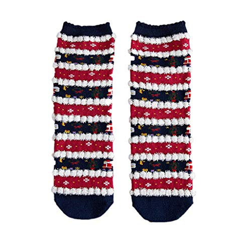MAWOLY Socken Weihnachtselch Nette Druck Dame Winter Warming Socks Thick Cotton Comfortable Weiche Feiertagsfeier - Moderne Aerobic Kostüm
