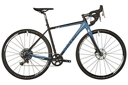 VOTEC VRX Comp - Bicicletas Gravel- Negro/Azul petróleo Tamaño del Cuadro XL / 57cm 2018 Bicicletas ciclocross