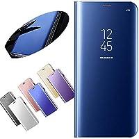 Nadoli Galaxy A5 2017 Spiegel Hülle,Mirror Effect PU Leder Hülle Transparent Case Cover Handytasche Book PC Hart... preisvergleich bei billige-tabletten.eu