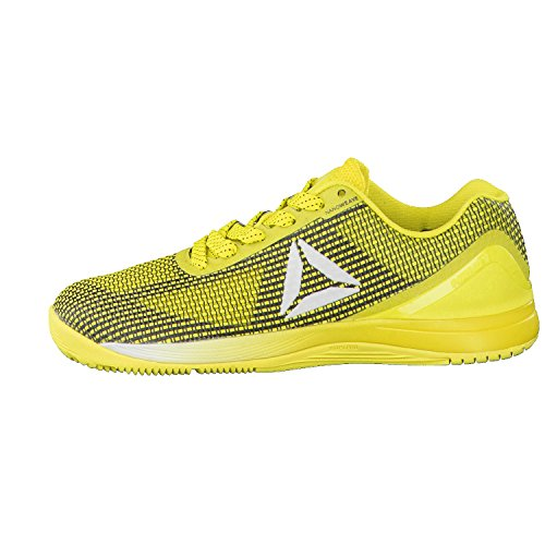 Reebok R Crossfit Nano 7.0, Chaussures de Fitness Femme Jaune (Bright Yellow/black/white/silver)