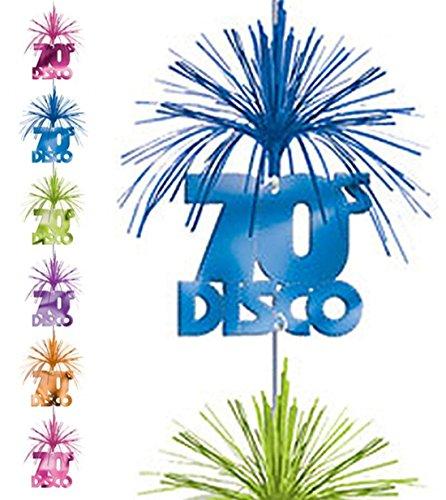 70s Disco Giant Dangling Cascade Centre Piece. 7 Feett