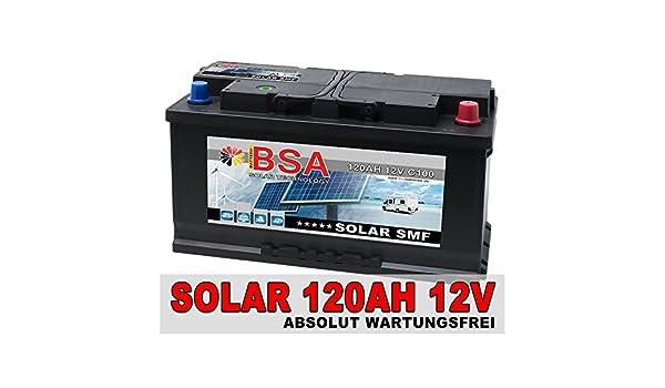 120ah 12 V Calcium Batterie solaire batterie camping car bateau approvisionnement Batterie