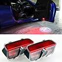 Inlink Autotür Logo Projektion Licht Car Door Shadow Light Logo Projector Für Volkswagen VW Touareg CC Sharan Scirocco Magotan Sagitar Passat Tiguan