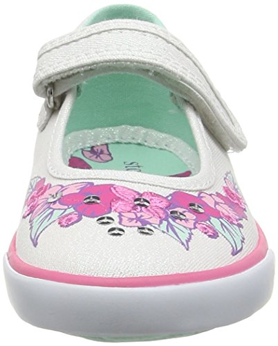 Start Rite Summer Serenity, Baskets Basses Fille Blanc - White (White Sparkle)