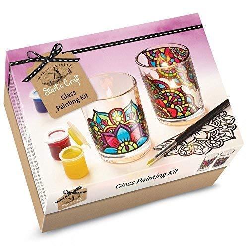 House of Crafts Glass Making Starter Craft Kit Candle Votives