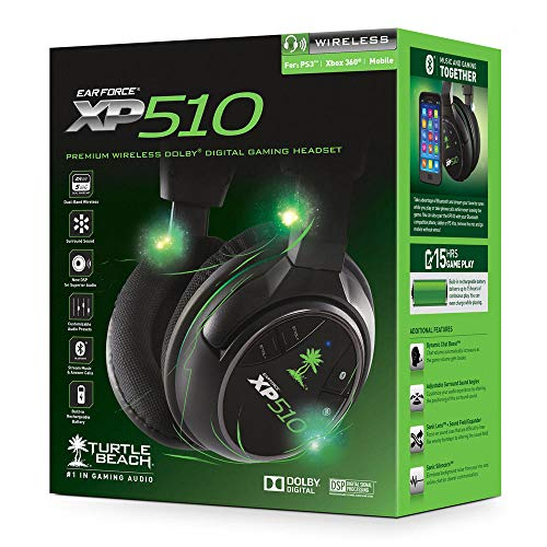 Turtle Beach Ear Force XP510 Wireless - [PS4, PS3, Xbox 360] - 360 Xbox Vergrößern