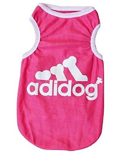KayMayn Sport Adidog Hunde-Hoodie für Haustiere, Hunde, Welpen, Katzen-T-Shirt Kleidung Mantel Hoodie Pullover Kleidung Große und kleine Größe (S bis 5X L), in drei Farben