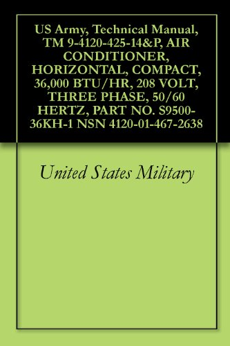 us-army-technical-manual-tm-9-4120-425-14p-air-conditioner-horizontal-compact-36000-btu-hr-208-volt-
