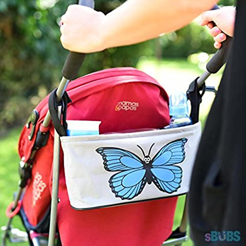 Buggy Stroller Organiser Pram Bag - With