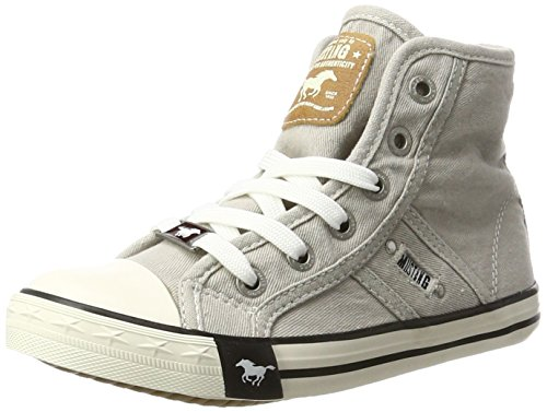 Mustang Unisex-Kinder 5803-503 High-Top Grau (22 hellgrau)