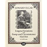 Elgar Edward Enigma Variations & Pomp & Circumstance Marches Full Sc