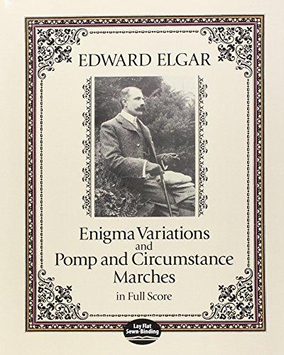 Enigma Variations & Pomp & Circumstance Marches (Full Score): Partitur, Dirigierpartitur für Orchester (Dover Music Scores)
