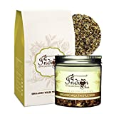 #9: The Indian Chai – Organic Milk Thistle Seed 100g (Pack of 2)   Boosts Liver Health   Helps Lower High Cholesterol   Anti – Aging  