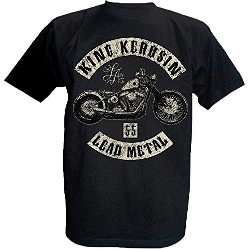 King Kerosin T-Shirt Lead Metal (2XL) - Öle, Schmierstoffe