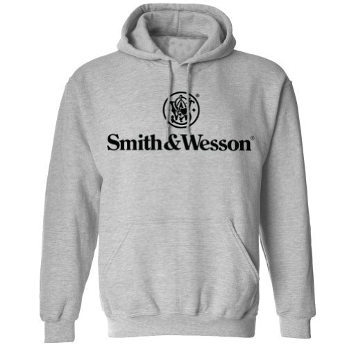 smith-wesson-mens-stacked-logo-pullover-hooded-sweatshirt-gray-l