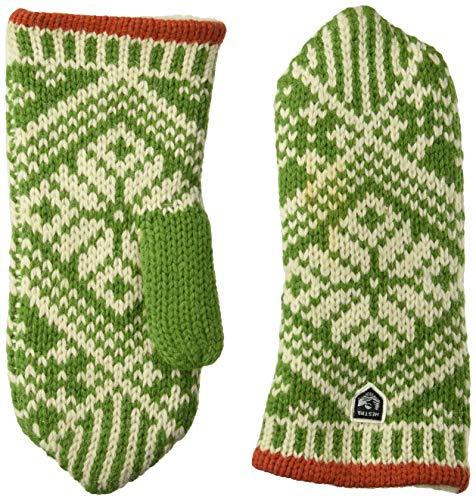 Nordic Wool (Hestra Handschuhe/Fäustlinge/Fausthandschuhe Nordic Wool Mitt grün (400) 8)