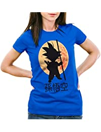 style3 Goku Clair de Lune T-Shirt Femme