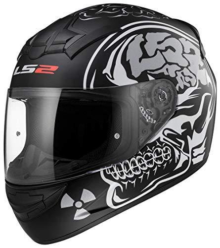 LS2Ff352nuovo X-Ray Casco Integrale Moto Bike Racing Crash City UK Road legali e passamont