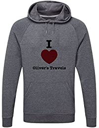 The Grand Coaster Company Love Oliver's Travels Lightweight Hooded Sweatshirt