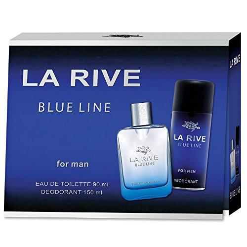 La Rive La rive blue line for man edt 90 ml deodorant 150 ml set