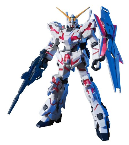 Bandai Hobby 100rx-0Unicorn Gundam (zerstören-Modus), Bandai HGUC Action Figur
