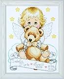 Tobin Angel Baby Sampler, Multi-Color