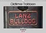 Oldtimer Traktoren - Embleme (Wandkalender 2019 DIN A4 quer): Embleme und Schriftzüge von Oldtimer-Traktoren (Monatskalender, 14 Seiten ) (CALVENDO Hobbys)
