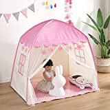 YJYRCYJLH Kinderspielhaus, sicher und umweltfreundlich, großer und komfortabler Raum, weich und weich auf der Haut,Pink