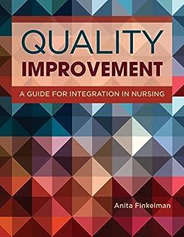 Anita Finkelman - Quality Improvement