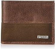 Amazon Brand - Symbol Men's RFID Protected Bi-fold 100% Genuine Leather Wa