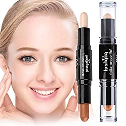 Rrimin Double-ended Concealer Pen Sticker Highlighter Cosmetics Makeup Tools (02)